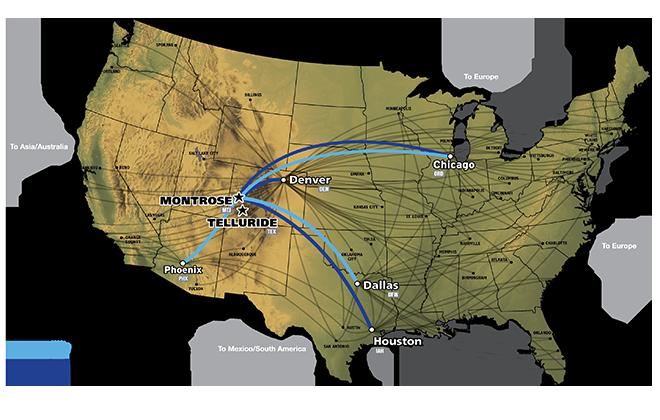 2018 Flight Map