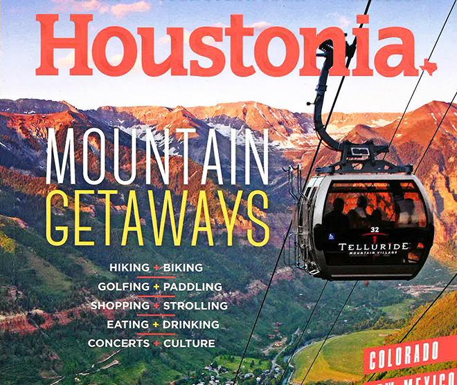 Read the Houstonia Article